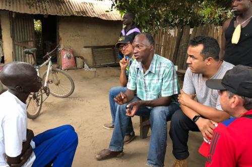 Grambia - Evangelismo - Ação social