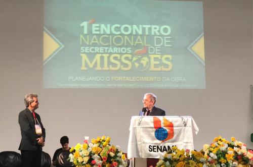 1º Encontro Nacional de Secretários de Missões